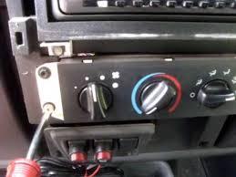 jeep wrangler fan jeep wrangler tj fan speed heater fix dash removal