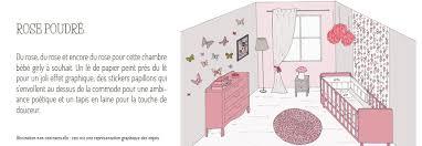 chambre grise et poudré idée décoration chambre bébé doux lapingris fr