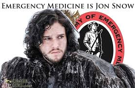 You Know Nothing Jon Snow Meme - medical specialties as game of thrones characters gomerblog