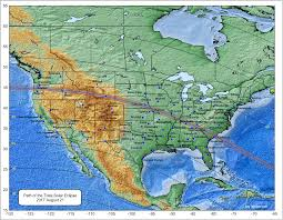 Eclipse Maps Total Eclipse Of The Sun August 21 2017 Total Solar Eclipses In