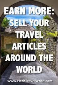 get published where travel writers can sell their stories
