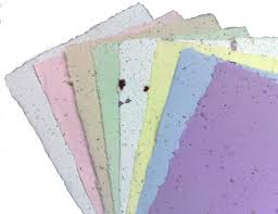 seeded paper eco chic seeded paper for your wedding stationary bridal musings