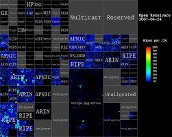 Ddos Map Ipv4 Heatmaps Open Resolvers