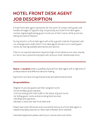 front desk agent duties job description templates the definitive guide