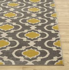 Modern Yellow Rug Impressive Area Rugs Marvelous Gray And Yellow Rug Cecilia Modern