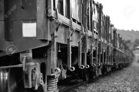 old cars black and white old coal train car black and white photo stock photo picture