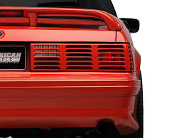 93 mustang lx tail lights axial mustang replacement gt style tail light lens right side
