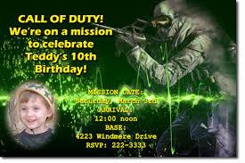army gi joe birthday invitations modern warfare call of duty