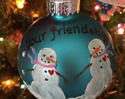 friendship ornament etsy