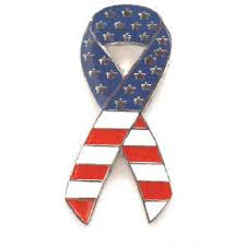 white blue ribbon white blue ribbon pin pin efx