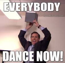 Dance Meme - the office isms memes