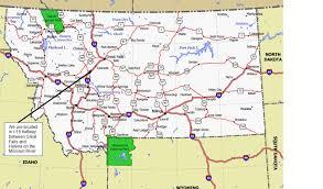 map of missouri river missouri river montana map montana map