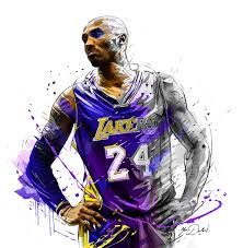 Color Painting by Kobe Bryant Living Color Painting U2013 Hooped Up