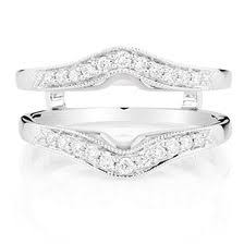 Wedding Ring Enhancers by Diamond Solitaire Enhancers Michael Hill Jewelers