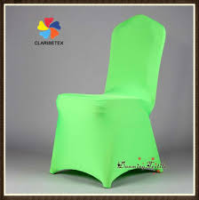 green chair covers wholesale lycra spandex wedding chair cover in bright green buy