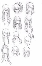 cute anime hairstyles billedstrom com