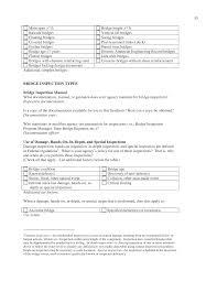 manual testing sample resume bridge inspector sample resume baker assistant sample resume appendix b questionnaire bridge inspection practices the 55 11 bridge inspector sample resume bridge inspector sample resume