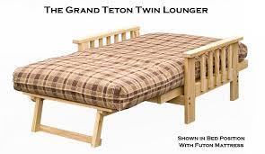 twin futon chair frame furniture shop