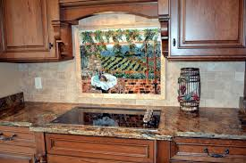 italian kitchen backsplash italian vineyard theme fused glass kitchen backsplash designer