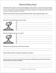 understanding anger worksheet psychpoint