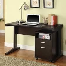 Desktop Computer Desk Hidden Desk Cabinet Wayfair