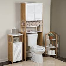 Over The Toilet Etagere Behind Toilet Storage Tags Bathroom Floor Storage Cabinet