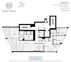 park grove floor plans luxury waterfront condos in miami