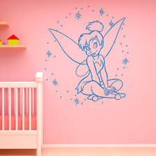 disney wall decals for nursery color the walls of your house disney wall decals for nursery tinkerbell wall decal little princess silhouette by fabwalldecals