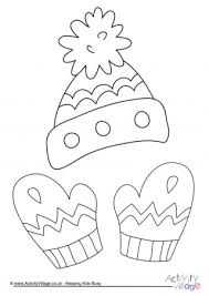 clothing colouring pages