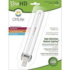 Ott Light Desk Lamp Ott Lite Truecolor Replacement Bulb 13 Watt Walmart Com