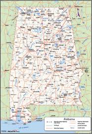 counties map alabama counties map maps