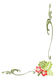 Clip Art Flowers Border - simple flower borders design hd border designs projects to try
