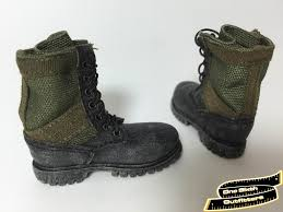 myer s boots 1 6 scale jungle combat boots one sixth outfitters