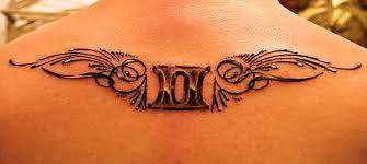 39 gemini tattoos and their zodiac design meanings tattoos win