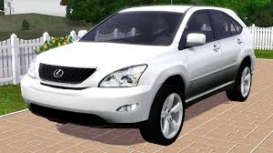 lexus car 2006 fresh prince creations sims 3 2006 lexus rx330