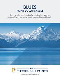 ble color inspiration from ppg pittsburgh paints blue paint