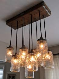 Country Style Chandelier Jar Lighting This Home Decor Design Ideas