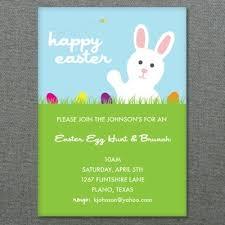 easter template easter egg hunt invitation print