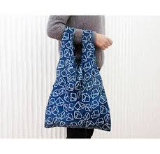 Reusable Shopping Bags Kikkerland Ossip Reusable Shopping Bag With Pouch Sailor Knot