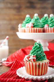 easy christmas tree cupcakes sugar u0026 soul