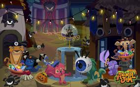 animated halloween desktop background free animal jam downloads the daily explorer
