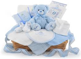 deluxe baby boy gift basket at 59 99