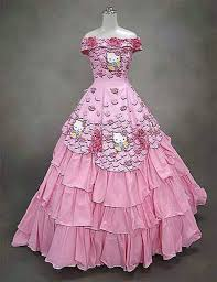 Unusual Wedding Dresses U0026 Unusual Wedding Dresses Hello Kitty Dress