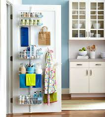 Kitchen Cabinet Door Storage by 15 Ways To Use The Back Of A Closet Door For Storage And