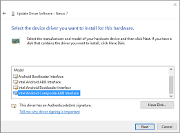 android adb installing the android debug bridge adb usb driver on a windows