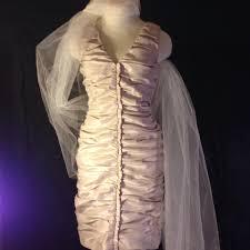 calvin klein wedding dresses calvin klein chagne shell 61 polyester 35 4 spandex