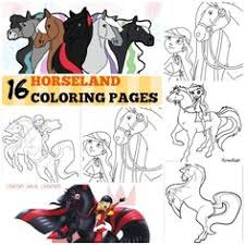 horseland coloring pages bing images kid u0027s crafts