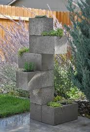 ideas con bloques de cemento buscar con google plantas y