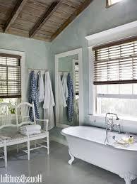 Beach Bathroom Accessories by Diy Beach Bathroom Decor Double Swing Glass Door Using Black Door