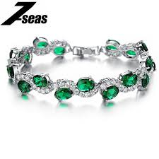 color stone bracelet images 7seas classical luxurious cubic zirconia women bracelet in white jpg